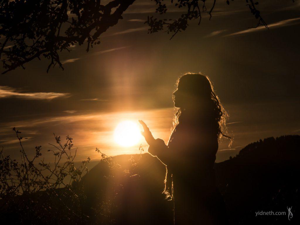 Caressing the Sun. Hello 2019